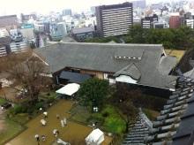 スタッフエージェントの軌跡-熊本城天守閣から本丸御殿