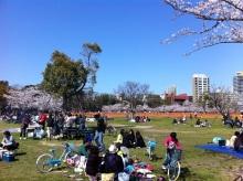 スタッフエージェントの軌跡-舞鶴公園 芝生広場